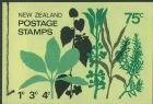 NZ Booklet SGSB27 75c Decimal Pictorial Booklet containing SG915, 918 and 919